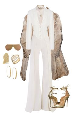 A fashion look from March 2017 featuring cream blazer, flared trousers and stiletto pumps. Browse and shop related looks. Cute Casual Outfits, Pretty Outfits, Stylish Outfits, Kpop Fashion Outfits, Stage Outfits, Look Fashion, Korean Fashion, Mode Kpop, Looks Chic
