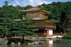 """""""From Japan's Inland Sea to the Alps"""" tour with General Tours, witness the stunning Golden Pavilion. Picture courtesy of General Tours."""