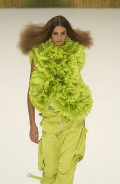 lime green dream  Ok I really don't think I could pull this off!!