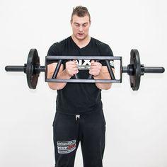 ATX® Short Multi-Grip Bar zur effektivsten Bizeps-,Trizeps-,Brust- und Schulter-Muskulatur geeignet.   mehr Informationen unter: http://www.megafitness-shop.info/Kraftsport/Hanteln-Gewichte/Hantelstangen/50-mm/ATX-Short-Multi-Grip-Bar--3671.html