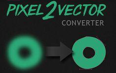 Convertir a vectores en Photoshop facil y gratis con Pixel-2-Vector