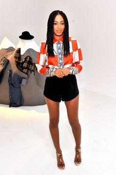 Solange Knowles Photos - eBay's Future of Shopping Event - Zimbio