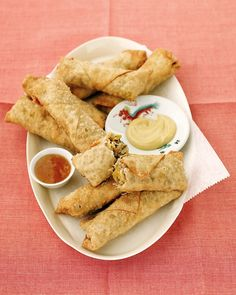 Fry or bake these homemade Pork Egg Rolls