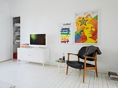 ikea ps cabinet and white tv