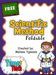 Scientific Method Foldable Freebie from More Time 2 Teach on TeachersNotebook.com (7 pages)  - Science foldable with reading passage to help teach the scientific method