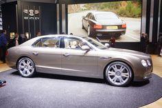 2014 Bentley Flying Spur live photos: 2013 Geneva Motor Show