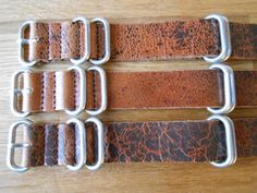 This is one of my favorites on Cheapest NATO Straps: Leather Zulu Strap Obsidian Brown (18 mm, 20 mm...