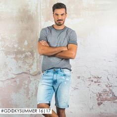 Bermuda masculina Gdoky Jeans: Estilo e conforto! #Beprepared #BeGdoky #Gdokymen