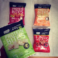 Protein crisps from Muscle Food UK for healthy protein snacking.