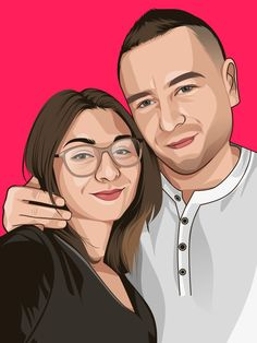Fiverr freelancer will provide Cartoons & Comics services and draw awesome cartoon portrait in 24 hours including Figures within 2 days