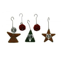 Deck the Halls with African Spirals (Set of Five) at Evoke Africa