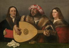 Giovanni Cariani (1485-1547) —  A Concert, c.1518-1520 : National Gallery of Art, Washington DC.  USA    (1200×840)