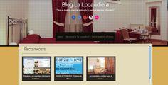 ECCO A VOI IL NUOVO BLOG DE LA LOCANDIERA ... che ne pensate?? Può andare bene ... ?? New BLOG for La Locandiera ... what do you think about it?? Will it work..???  http://www.la-locandiera.com/blog/