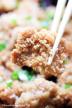 (FenzhengRou)Steamed Pork with Rice Flour