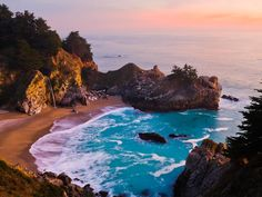 "The Pacific Coast Highway has long been considered a ""dream drive."" Technically, it starts in Washington State, but its best known for the stretch through California from the stunning redwood forests and wild, rugged coast down to the sun-drenched beaches of San Diego."