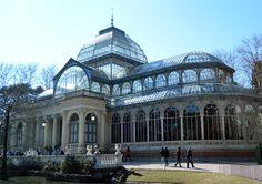 parque del retiro palacio de cristal