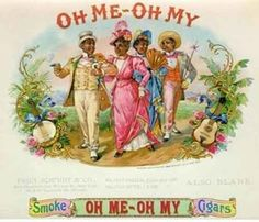 vintage cigar labels | Oh Me - Oh My Cigars | Cigar box label art
