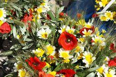 Tradição - É Dia da Espiga. Ainda se lembra como se faz um ramo? Portugal, Floral Wreath, Wreaths, Plants, Decor, Holiday, Bouquets, Decoration, Decorating