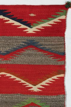 Saddle Blanket - Navajo Twill Double : Historic : GHT 2204 - Getzwiller's Nizhoni Ranch Gallery
