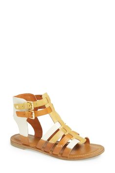 San Antonio Gladiator Leather Sandal by Pikolinos on @nordstrom_rack