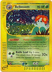 Pokemon Aquapolis Card 5 - Bellossom Holofoil $22.50-$30.00