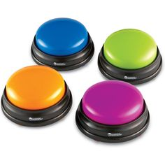Learning Resources Answer Buzzers - Set of 4  - good for Games