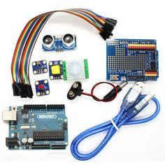 Kit básico de arranque Geekcreit® UNO R3 para Arduino