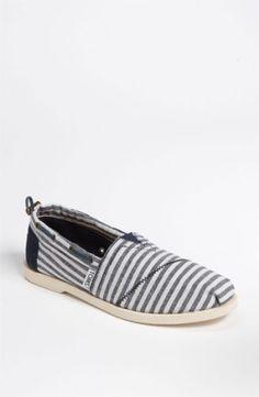 Sailing Shoes For Women | TOMS Bimini - Nautical Boat Shoe (Women) $68.95 by nordstrom