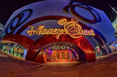 "(PIC ONLY) DisneyQuest – it's a cool ""indoor interactive theme park"" where you can ride virtual theme park rides. @ Downtown Disney, near the Cique du Soleil.. Awesome Fun! 5 stories of interactive games. Rarely busy except for holidays, rainy days and sometimes after 9 p.m (PICTURE ONLY)"