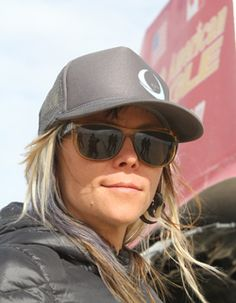 Jessi Combs - World's Fastest Woman on Four Wheels - hitting 440.7 mph in the NAE Supersonic Speed Challenger, October 2013.