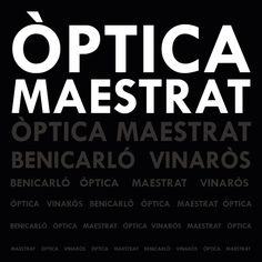 Logo òptica Maestrat by C.Elorduy