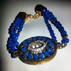 Lovely bracelet #bijoux #bracciali #instabuy #instashopping #instabeauty #musthave #picoftheday #blue