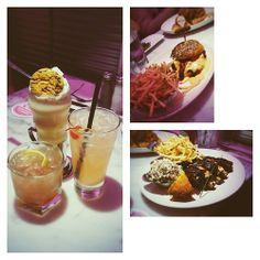 "Comment: monamonalisa said ""Day 76 - milkshakes & cocktails, Sloppy Jose & Jack's Adam's Ribs cause the calamari pic wasn't legit enough @ Deville Dinerbar with @zyutsu @Alice Cartee.zhang.3348 and @jackiskoo #food #mtrl #100happydays #2ndyear60"""