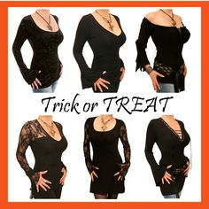 Fall Winter, Autumn, Trick Or Treat, Black Tops, Trousers, Halloween, Jeans, Womens Fashion, Skirts