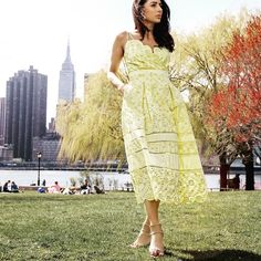 ❁ Lemon ZEST 🍋Did you know you can shop all of my looks at the link in my bio? Lifestyle Online, Spring Trends, Famous Brands, Personal Stylist, Yellow Dress, Trendy Outfits, Fashion Outfits, Spring Fashion, Lace Skirt