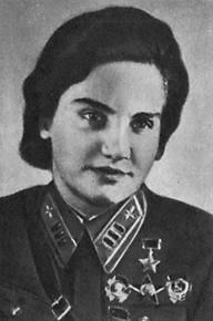 During WWII, the Soviet Union, which already had a tradition of women in combat, was the first nation to use women pilots. After suffering huge male battle casualties in 1941, the government ordered all women without children who were not already engaged in war work to join the military. There were three all-woman regiments: fighter, bomber, and night bomber. Other women flew with male regiments and pilot Valentina Grizodubova was even the commander of a 300-man, long-range bomber squadron.