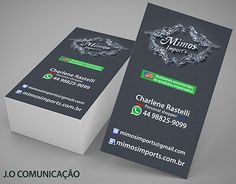 """Check out new work on my @Behance portfolio: """"Logotipo 3D Mimos Import's + business card"""" http://be.net/gallery/53364883/Logotipo-3D-Mimos-Imports-business-card"""