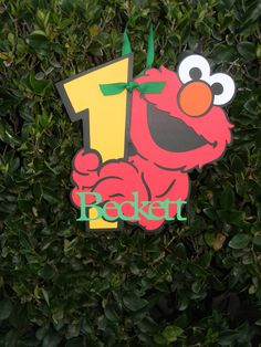 Sesame Street Party Sign