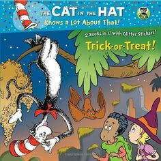 Trick-or-Treat!/Aye-Aye! (Dr. Seuss/Cat in the Hat) (Deluxe Pictureback) by Tish Rabe