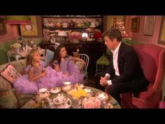 Sophia Grace & Rosie Do Tea with Hugh Grant - The Ellen DeGeneres Show! This is adorable. It will make you smile. Ty, Ellen.
