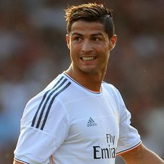 Cristiano Ronaldo Dos Santos Aveiro. One of the best footballers is an inspiration for many and myself. He shows the world how hard working can get you anywhere.