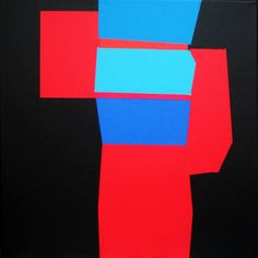 "Saatchi Art Artist Luis Medina; Painting, ""Solid B"" #art"