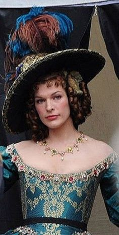 Baroque - three musketeers movie - Milla Jovovich