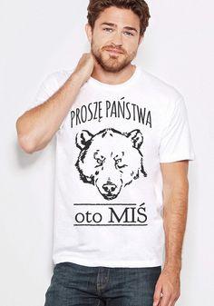 Wyraź siebie poprzez Cool-Koszulki. Wybierz indywidualną koszulkę która będzie określać Ciebie. Wyróżnij się z tłumu ! Zrób super prezent sobie lub bliskiej Ci osobie i podaruj jej...