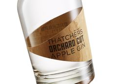 Thatchers Orchard Cut Apple Gin — The Dieline - Branding & Packaging Design