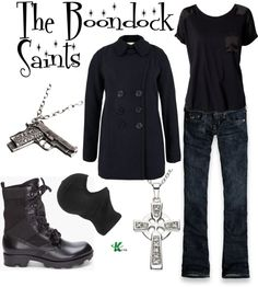 """The Boondock Saints"" by kerogenki on Polyvore"