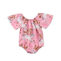 Pixel Colorful Butterflies Baby Boy Girl Short Sleeve Romper Jumpsuit Toddler Jumpsuit 0-24 Months