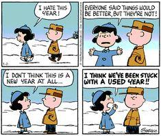 Classic Peanuts Cartoon
