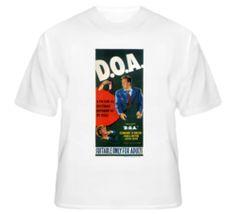 D.O.A. - Film Noir T Shirt