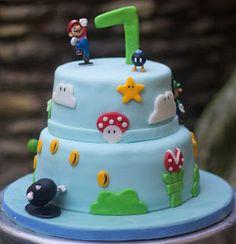 La tana dei dolci: Torta Super Mario